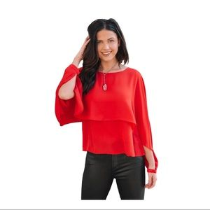 Jack by BB Dakota Next Big Thing Layered Top Small